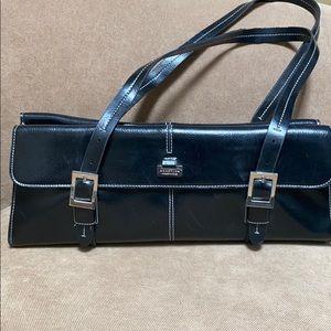 Kennith Cole black long purse